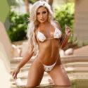 Afina blonde Hostesse private Kuschelstunden mit Sex über Escortagentur FFM treffen