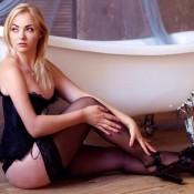Privat blonde Hostesse Dace in sexy Dessous sucht Freizeitkontakte in Frankfurt