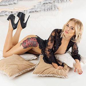 Hobbyhuren Frankfurt am Main Guila blond sexy steht auf Spezielle Öl-Massage