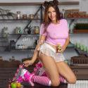 Maxi verspielte Hostesse bei Escortagentur Frankfurt zum Sex einladen